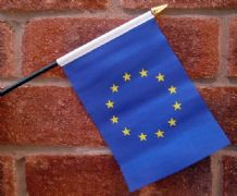 HAND WAVING FLAG (SMALL) - European Union